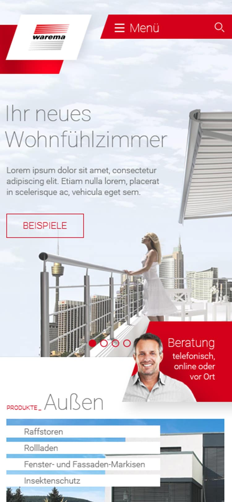 Warema Webshop