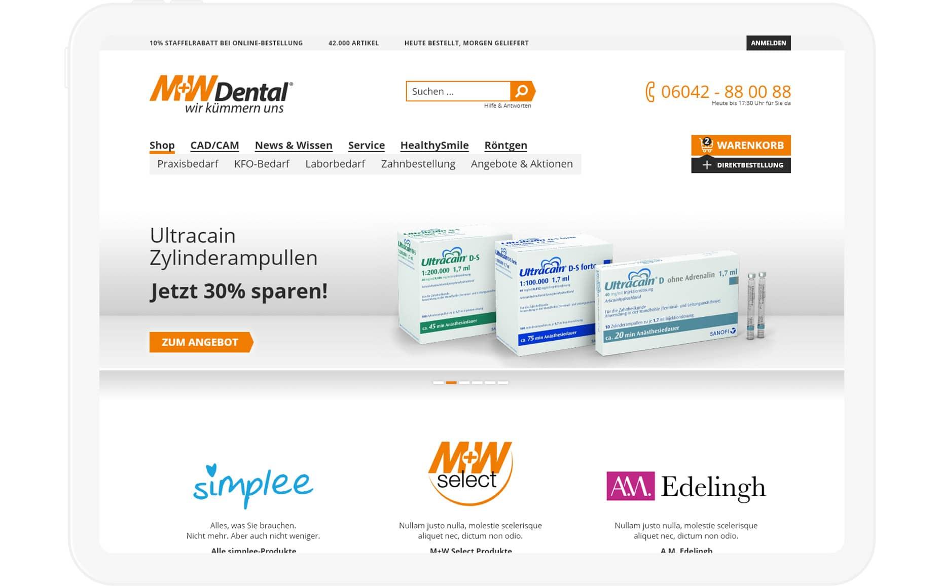 M+W Dental Beispiel