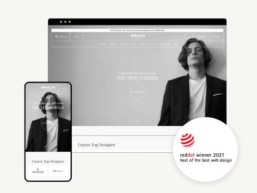 Red Dot E-Commerce UX Design Award